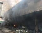 Công an điều tra nguyên nhân vụ cháy khu chợ 2 tầng ở Hà Nội
