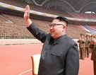 Ông Kim Jong-un xem bóng đá cùng quan chức nước ngoài sau chuyến thăm Trung Quốc