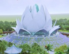 Xây dựng Liên Hoa Bảo Tháp với tượng Phật dát 30 ký vàng