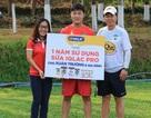 Nhà tài trợ VPMilk trao tặng sữa cho các cầu thủ U23 Việt Nam và gia đình
