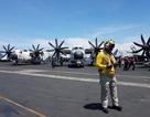 Tàu sân bay Mỹ phô diễn sức mạnh trên Biển Đông