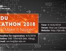 FPT Edu Hackathon 2018 chính thức khởi động
