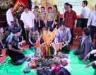 Lưu học sinh Lào - Thái Lan đón Tết cổ truyền trên đất Nghệ