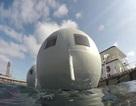 Hệ thống khách sạn nổi có khả năng chống sóng thần ở Nhật
