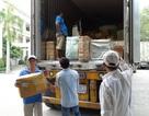 Tạm giữ 2 xe container chở hàng chục tấn hàng điện tử Trung Quốc nghi nhập lậu