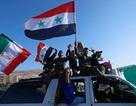 Người Syria xuống đường ủng hộ chính quyền sau cuộc tấn công của Mỹ