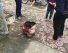 Bình xăng xe máy phát nổ khi hàn, một người nhập viện cấp cứu