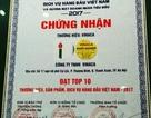 Cty Vinaca có thuốc ung thư từ bột tre từng nhận giải Top 10 thương hiệu hàng đầu Việt Nam?