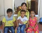 Chồng mất vì tai nạn, vợ một mình gồng gánh cứu 3 con bị tan máu bẩm sinh