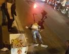 Nam thanh niên tông vào cột đèn điện cầu vượt Ngã Tư Sở, tử vong tại chỗ