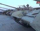 Cận cảnh kho vũ khí phiến quân giao nộp cho quân đội Syria