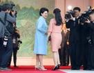 Đệ nhất phu nhân Hàn - Triều lần đầu gặp gỡ