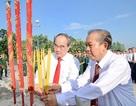 Lãnh đạo TPHCM dâng hoa tưởng niệm anh hùng liệt sỹ