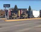 Đoàn xe nghi chở đầu đạn hạt nhân xuất hiện trên đường phố Mỹ