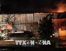 Cháy lớn thiêu rụi một kho hàng điện máy
