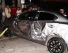 Tài xế xe hơi gây tai nạn liên hoàn đến công an trình diện
