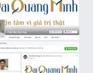 Facebook của doanh nhân Trần Bá Dương vừa lập đã bị đánh sập