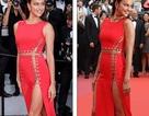 """Irina Shayk táo bạo """"bỏ quên nội y"""" trên thảm đỏ Cannes"""
