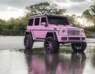 Mercedes-Benz G-Class hồng lạ mắt