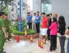 Tập huấn phòng cháy chữa cháy và cứu hộ cứu nạn tại dự án P.H Center Hưng Yên