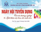 Trường Đại học Công nghiệp Việt Trì tổ chức Ngày hội tư vấn hướng nghiệp nghề