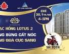 Chỉ từ 30,1 triệu/m2 sở hữu căn hộ cao cấp tại trung tâm phía tây Hà Nội