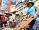 """Hà Nội: Cưỡng chế hàng loạt cơ sở kinh doanh """"xẻ thịt"""" đất vàng quận Cầu Giấy"""