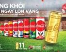 Giấc mơ vàng của bóng đá Việt được khắc họa trên mẫu lon Coca-Cola phiên bản siêu đặc biệt