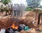 Quảng Bình: Tiêu hủy trên 45 ngàn bao thuốc lá lậu