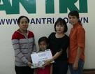 Vĩnh Long: Trao hơn 109 triệu đồng đến bé gái 7 tuổi mắc bệnh ung thư máu