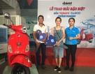 Đại Việt trao thưởng xe Piaggio cho khách hàng may mắn mua máy làm mát