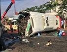 Hai xe tông nhau nát đầu, 1 người tử vong, 10 người nhập viện