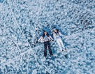 Bộ ảnh tuyệt đẹp về hồ băng nước ngọt lớn nhất thế giới