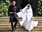 """Cô dâu Hoàng gia Meghan rạng ngời trong hai bộ váy cưới """"thường dân"""""""