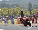 """Marquez chiến thắng trong ngày Dovizioso và Zarco """"ngã ngựa"""""""
