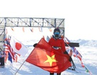 """""""Cuộc chiến"""" vượt 42 km ở Bắc Cực của Tăng Nguyệt Minh"""