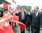 Nhật Bản bắn 21 loạt đại bác chào mừng Chủ tịch nước Trần Đại Quang