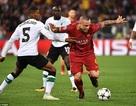 Những khoảnh khắc sôi động ở trận thắng của AS Roma trước Liverpool