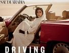 Ý nghĩa đằng sau hình ảnh người đẹp Ả Rập cầm tay lái