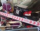 """Hà Nội: Nam nhân viên rửa xe lùi ôtô """"bất cẩn"""" khiến 5 người trọng thương"""