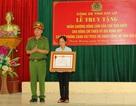 Truy tặng Huân chương dũng cảm cho chiến sỹ hy sinh khi cứu người giữa dòng lũ
