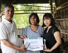 Đồng Tháp: Trao hơn 51 triệu đồng đến người phụ nữ mù mắc bệnh nan y