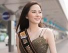 Diệu Linh khoe trọn đường cong lên đường dự thi Nữ hoàng Du lịch Quốc tế