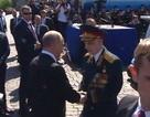 Hành động đẹp của Tổng thống Putin tại lễ duyệt binh Ngày Chiến Thắng