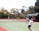 Sân tennis nửa tỷ của xã nông thôn mới chỉ có 23 người chơi
