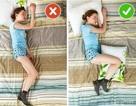 Tư thế ngủ thế nào là đúng để không ảnh hưởng đến sức khỏe?