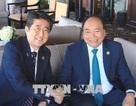 Thủ tướng Nguyễn Xuân Phúc gặp gỡ Tổng thống Pháp, Thủ tướng Nhật Bản