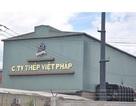 """Bị dân """"đấu"""" về môi trường, nhà máy Thép Việt Pháp phải tạm dừng hoạt động"""