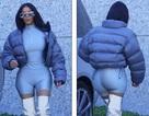Kim Kardashian gây choáng với trang phục khó hiểu