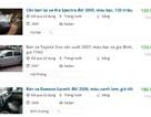 """15 triệu đồng/lần """"mông má"""" xe taxi cũ thành xe """"nhà đi"""" bán trăm triệu"""
